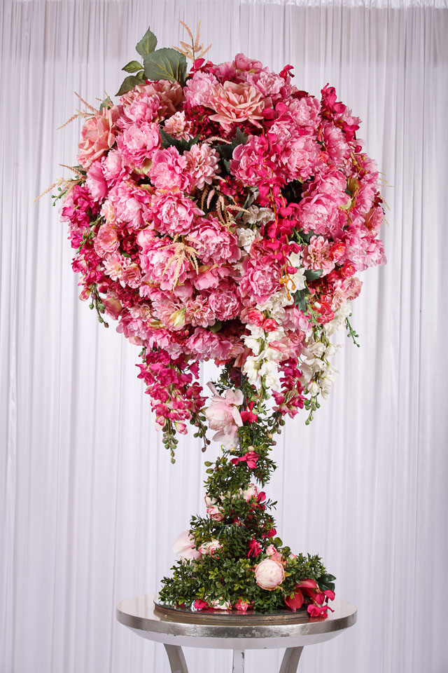 13m pink flower ball real touch flower arrangement wedstyle 13m pink flower ball real touch flower arrangement mightylinksfo