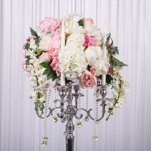 wedstyle-hire-flower-arrangement-silver-candelabra-with-real-touch-flowers-2