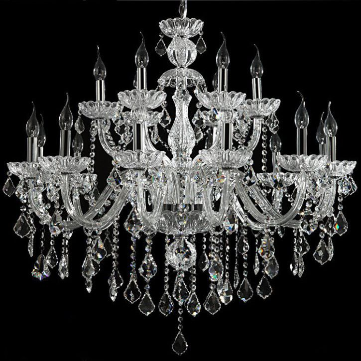 18 arm luxury crystal chandelier wedstyle weddings events 18 arm luxury crystal chandelier aloadofball Image collections